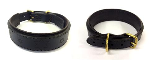 bespoke leather dog collars