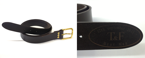 handmade leather belts uk